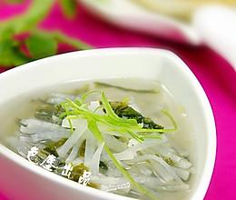 萝卜丝紫菜汤的做法