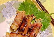 烟肉金菇卷的做法