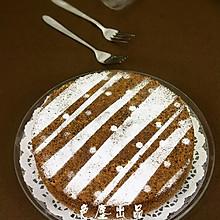 巧克力全蛋蛋糕——中秋美食