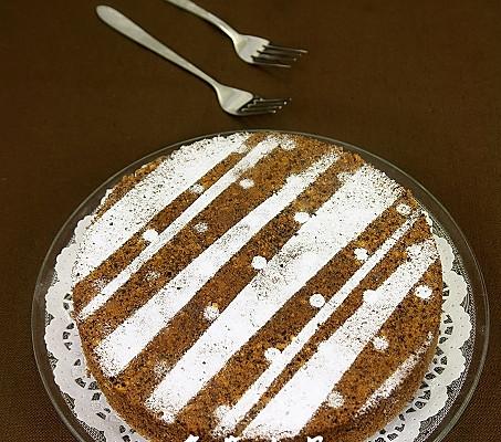 巧克力全蛋蛋糕——中秋美食的做法