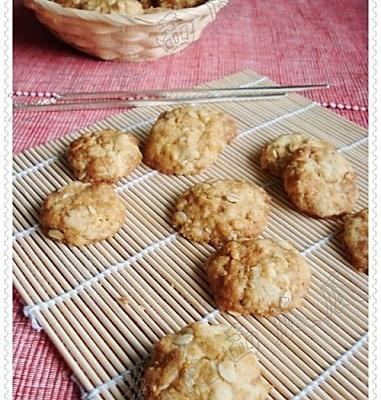 燕麦小桃酥的做法