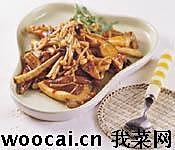 豆瓣酱炒鲜菇的做法