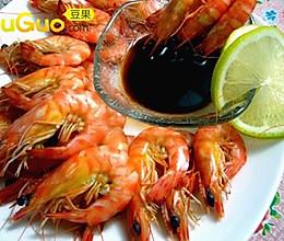 怎么吃都不胖---柠香基围虾的做法