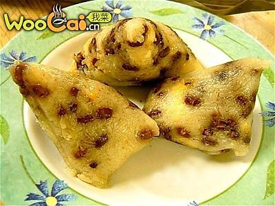 红豆粽子的做法