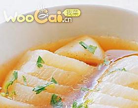 米醋萝卜菜 的做法