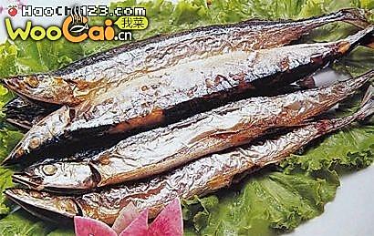 香烤刀鱼的做法