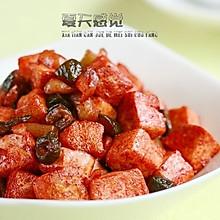 酱菜腐乳汁烧豆腐