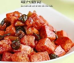酱菜腐乳汁烧豆腐的做法