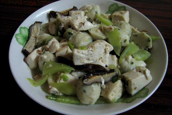 三鲜炖豆腐的做法