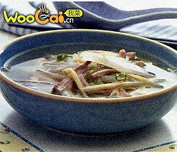 猪肚萝卜汤的做法