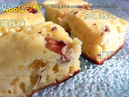 果味核桃糕:不用烤箱的另类烘焙的做法