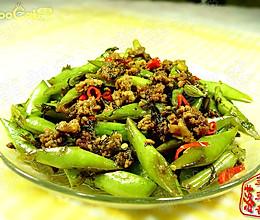 榄菜肉碎四季豆的做法