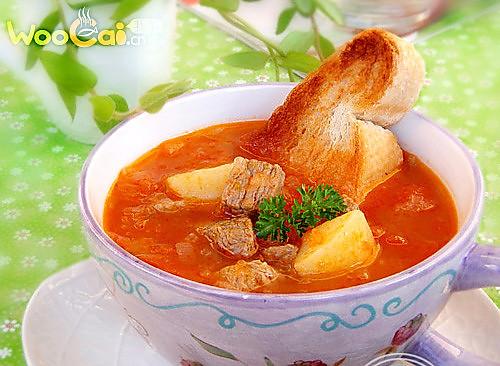 美味暖胃汤 番茄牛肉汤的做法