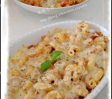 芝士焗意大利面——美丽厨娘的做法
