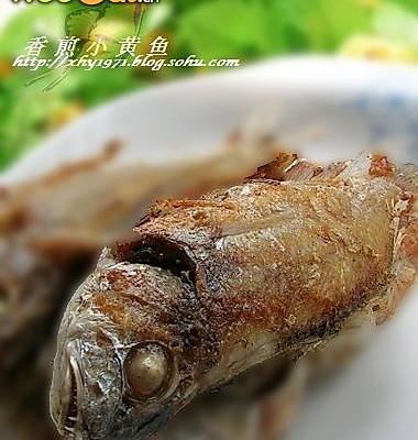 香煎小黄鱼--美丽厨娘的做法