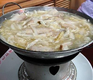 酸菜猪肉炖粉条的做法