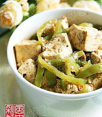 尖椒炒辣豆腐的做法