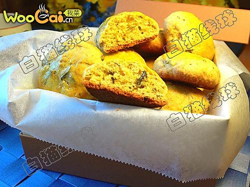 茶香玉米松饼的做法