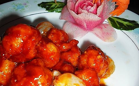 荔枝虾球--美丽厨娘的做法