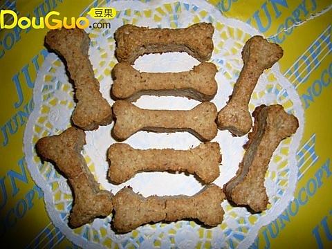 营养麦片棒之小狗骨饼干的做法