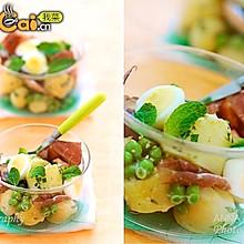 土豆火腿沙拉