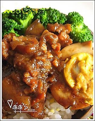 自己做台湾人爱吃的——卤肉饭