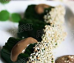 麻酱菠菜卷的做法