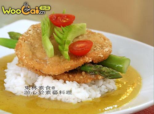 咖喱素排配米饭的做法