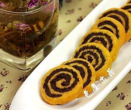 巧克力西瓜双色饼干的做法