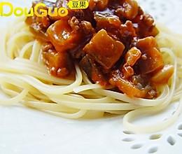 中国式茄酱意面的做法