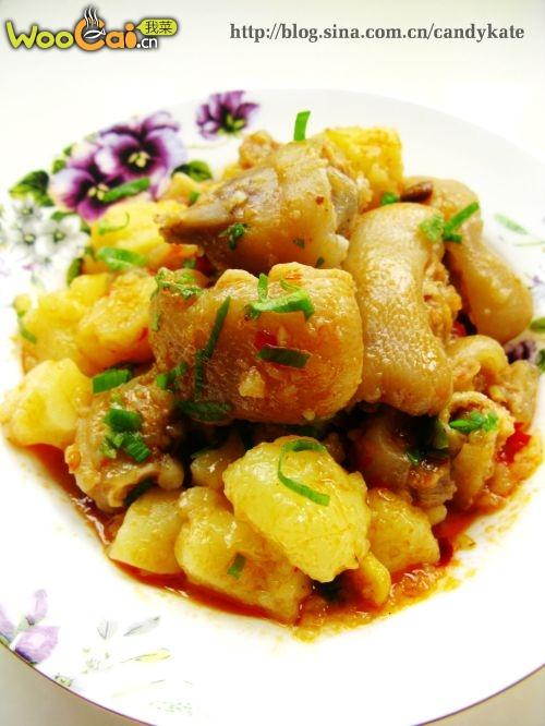 忒实惠的菜--米豆腐焖猪蹄--美丽厨娘的做法