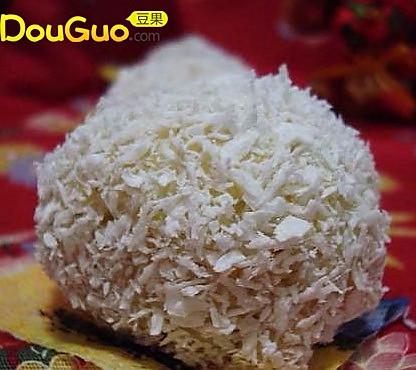 简易版椰蓉粘豆包的做法