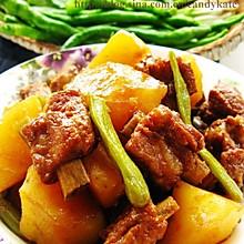 豆角土豆炖排骨