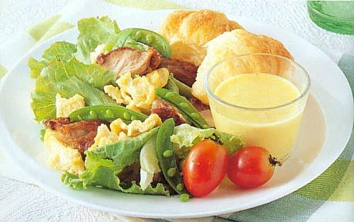 豌豆鸡肉沙拉的做法