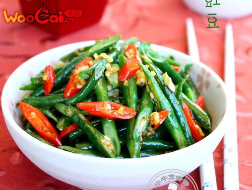 特色凉拌菜:响油豇豆的做法