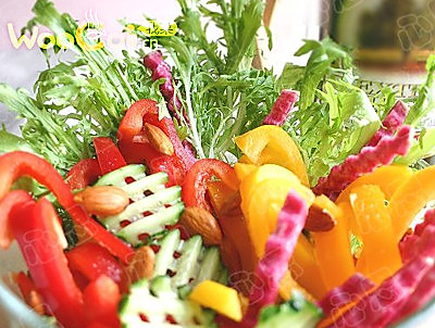 新年瘦身:蔬菜总汇沙的做法