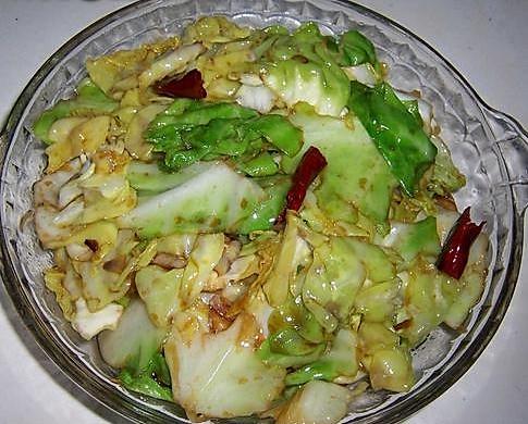 干煸圆白菜
