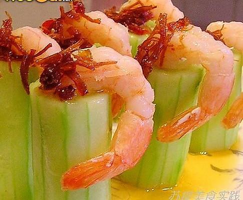 XO鲜虾黄瓜的做法