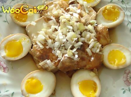 冰镇黄金溏芯蛋的做法