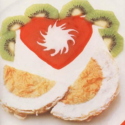 杂果仁奇异果饼的做法