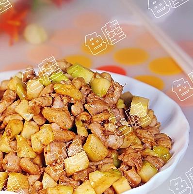 榨菜炒兔丁的做法