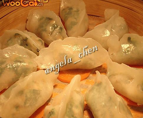 水晶菠菜虾饺的做法