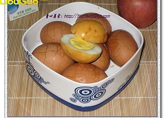 五香鸡蛋—户外美食的做法