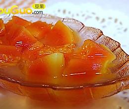冰糖银耳木瓜甜汤的做法