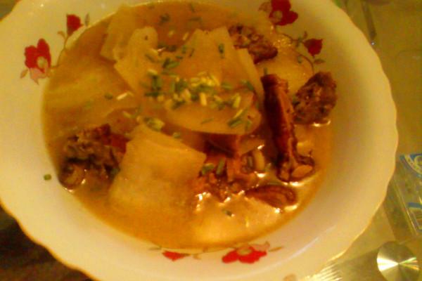 红皮鸭子冬瓜汤的做法