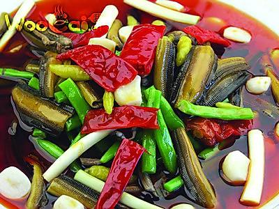豆角钵钵鳝的做法