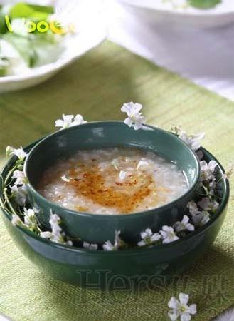 中秋美食——桂花粥的做法