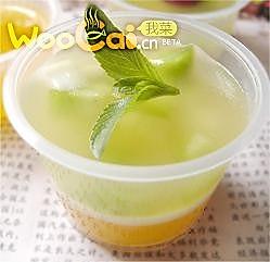 凤梨柠檬果冻的做法