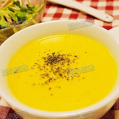 胡萝卜浓汤  的做法