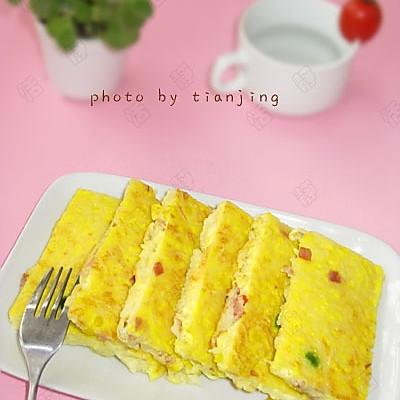 美丽厨娘—美味的泡面鸡蛋饼的做法